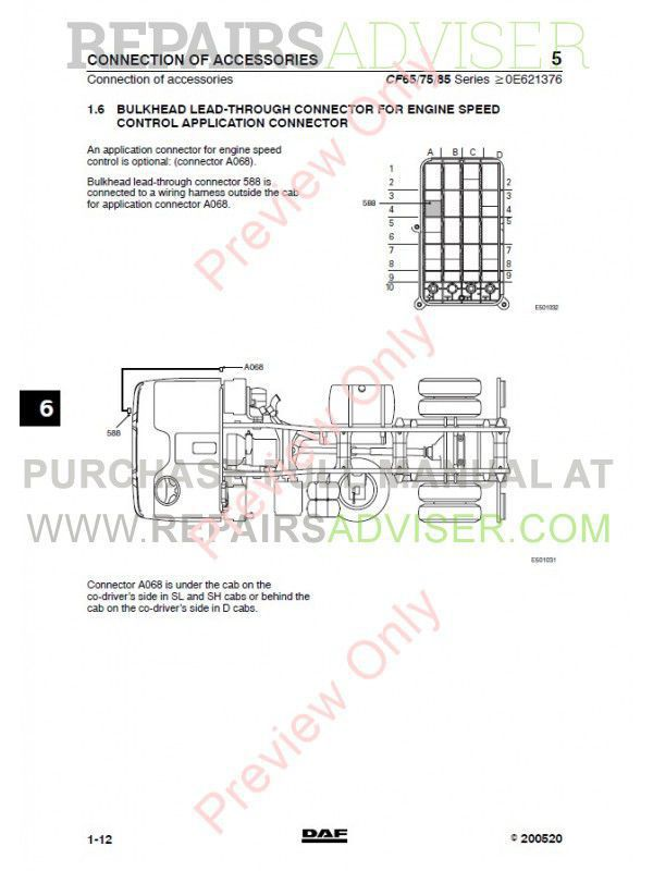 DAF_Truck_CF65_CF75_CF85_Wiring_Diagram_Manual_2 800x800 clarion vz309 wire harness diagram wiring diagrams for diy car clarion max685bt wiring diagram at fashall.co