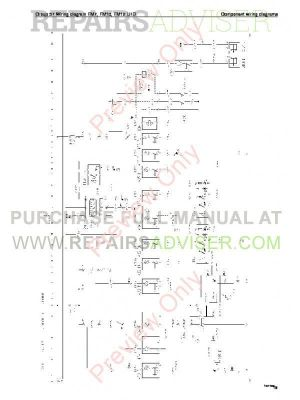Volvo Trucks FM791012, FH1216, NH12 Wiring Diagrams