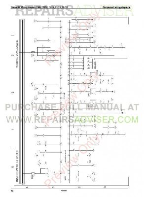 Volvo Trucks FM791012, FH1216, NH12 Wiring Diagrams