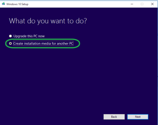 create Windows 10 DVD