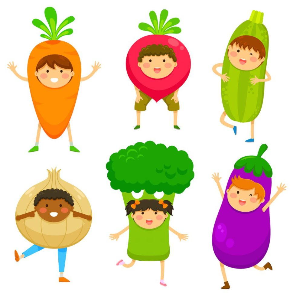 Happy vegetables!