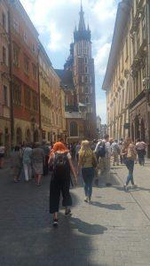 Κρακοβία, στα στενά της Παλιάς Πόλης Πολωνία