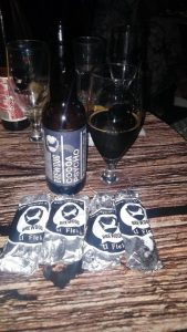 Semi-Skimmed Occultist 8% alc., Semi-Skimmed Occultist 8% alc.,Beer tasting, Brewdog beers
