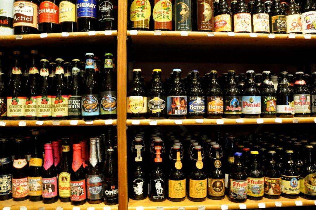 Belgian beers, brands