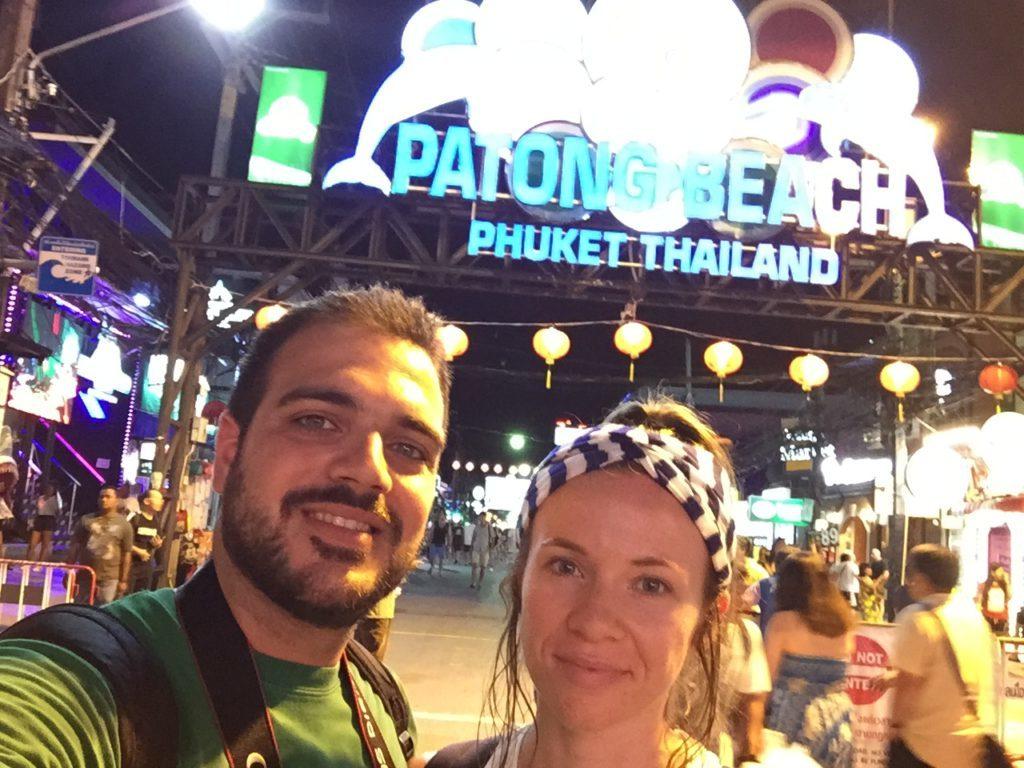 patong beach φίλοι