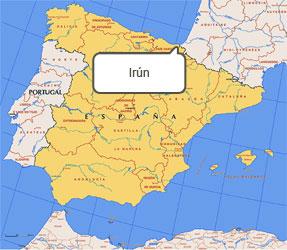 Image result for irun mapa