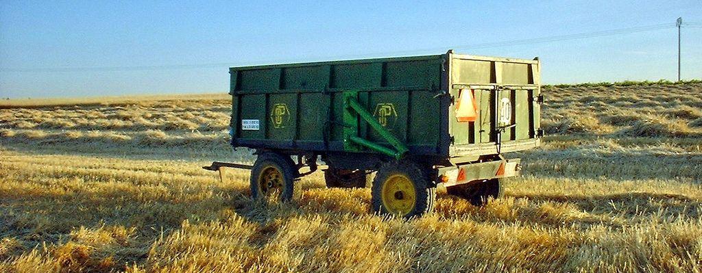 remolque agrícola usado