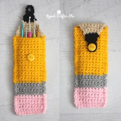 Crochet Pencil Pouch