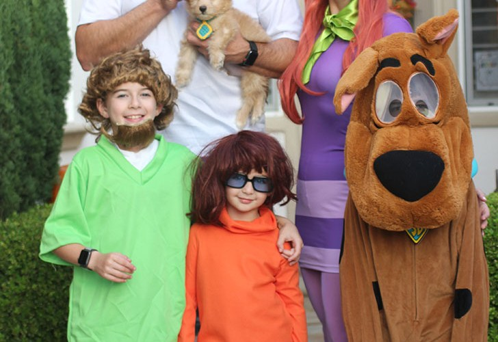 Scooby-Doo Gang Family Costume