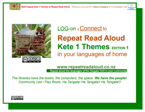 Multi Lingual Kete 2 Theme Repeat Read Aloud