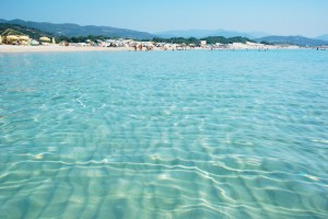 Chia crystal water in Sardinia