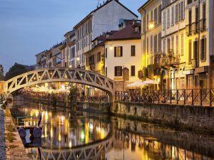 Navigli canals in Milan