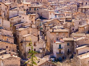 Village in the mountains, Abruzzo
