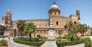 Cathedral of Palermo from the main Entrance