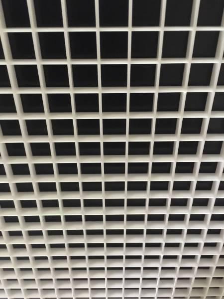 595 x 595 ventilated eggcrate diffuser