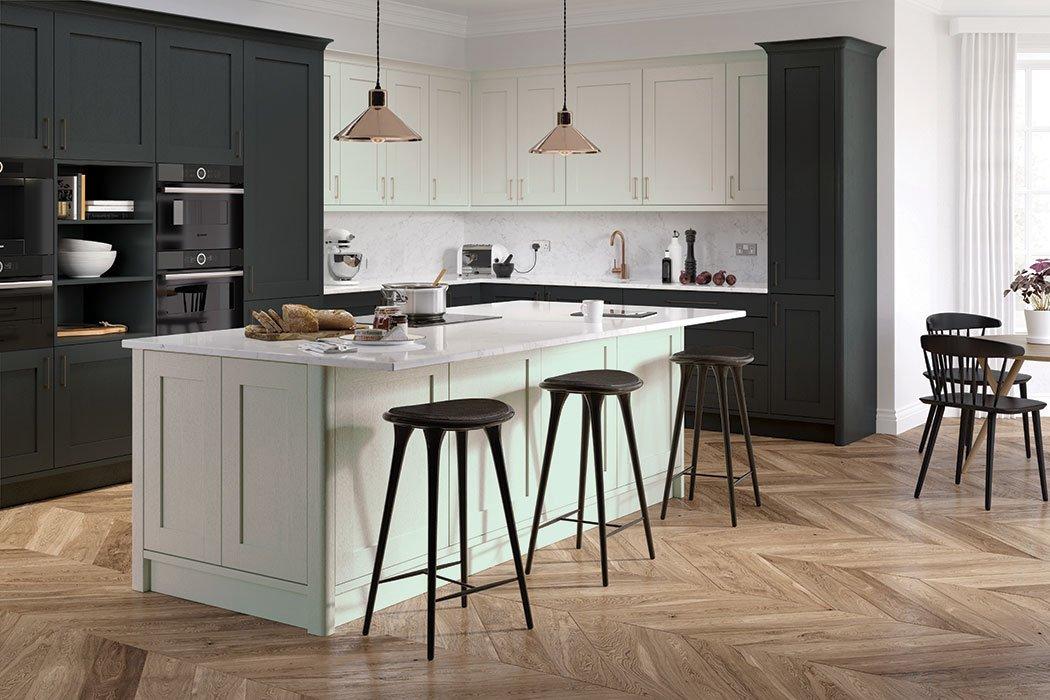 Pronto Hadley Dove Grey Kitchen