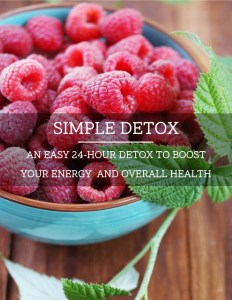 An image of our 24 hour detox ebook cover