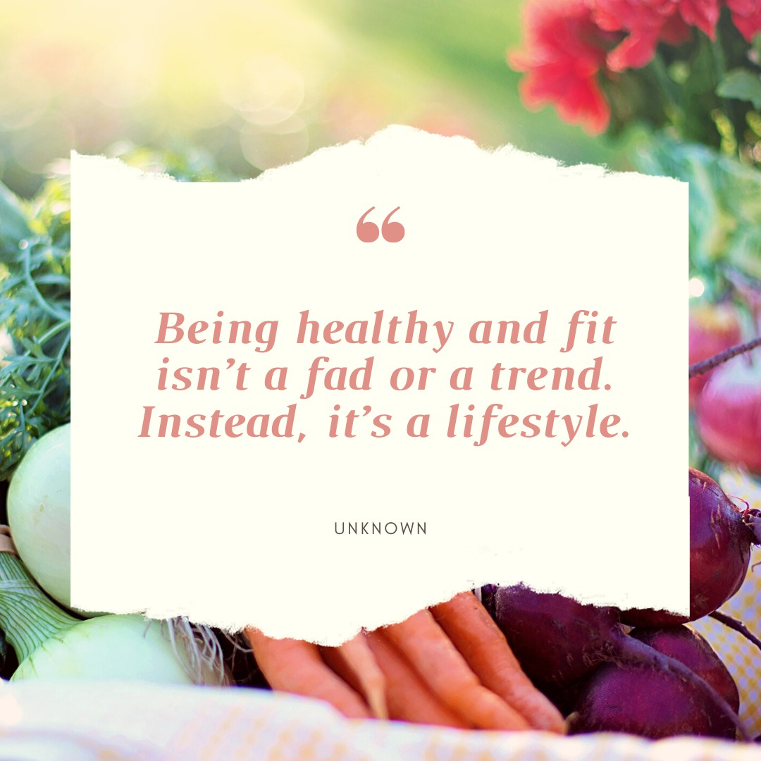 Healthy Lifestyle Quote