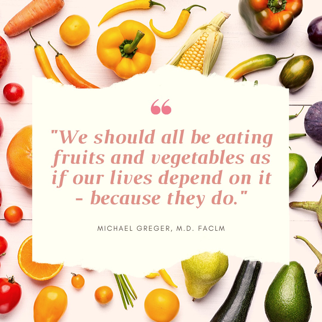 Michael Greger Quote