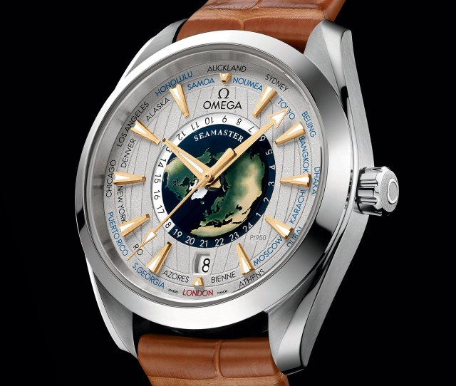 So The Debut Of The Aaa Omega Replica Watches Seamaster Aqua Terra Worldtimer Indicates Theres A World Time Watch In The Pipeline