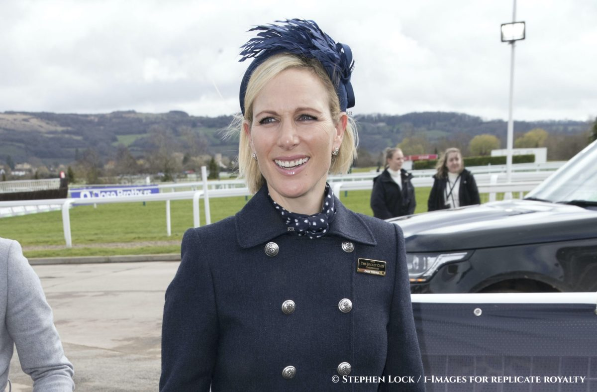 Image licensed to i-Images Picture Agency. 10/03/2020. Cheltenham , United Kingdom. Zara Tindall arriving on the first day of the Cheltenham Festival, United Kingdom.  Picture by Stephen Lock / i-Images