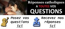 Abonnement à la Newsletter Réponses Catholique