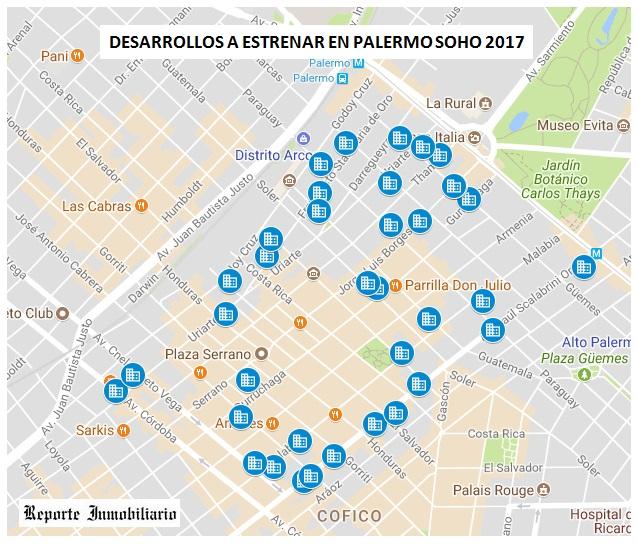 OBRAS DESDE EL POZO EN PALERMO SOHO