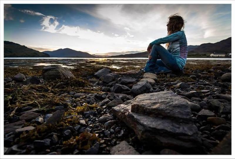Momentos para maravillarse con el paisaje y sentirse libre...