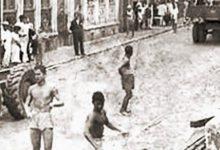 Photo of A tromba d'água de 1949 em Maceió