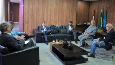 Photo of TCE-AL recebe visita do Desembargador Federal Rubens Canuto