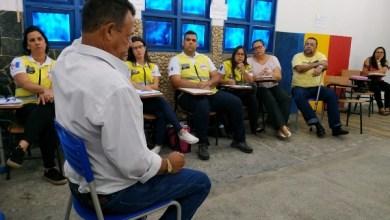 Photo of Agentes do Ronda no Bairro participam de curso de abordagem a pessoas com deficiência visual