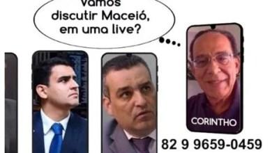 Photo of Corintho Campelo anuncia pré-candidatura e desafia concorrentes a discutir Maceió em uma live