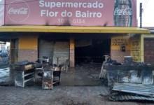Photo of FOGO! Incêndio destrói supermercado no Prado, em Maceió; Assista!