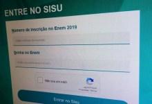 Photo of GRADUAÇÃO: Prazo para instituições de ensino superior aderirem o SISU começa hoje