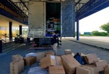 Photo of PRF apreende dezenas de mercadorias falsificadas dentro de caminhão em Canapi, AL