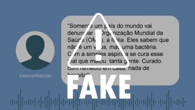 Photo of FAKE NEWS: é falso que uso de aspirina cure pacientes com o novo coronavírus