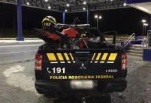 Photo of PRF prende homem com motocicleta adulterada na BR-104, em União dos Palmares