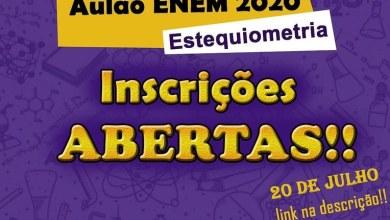 Photo of ENEM 2020: Empresa Júnior de Química promove aulão gratuito