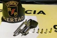 Photo of 9º BPM apreende arma de fogo; 2ª CPM/I deteve indivíduos por Receptação e Homicídio