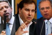 Photo of UNIDOS! Arthur Lira, Rodrigo Maia e Paulo Guedes se unem para defender manutenção de teto de gastos; Assista!