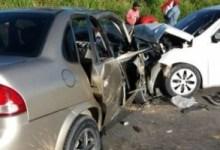 Photo of Sete pessoas ficaram feridas após colisão entre dois veículos na BR-101, em Joaquim Gomes
