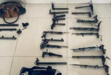 Photo of INTERIOR: PM apreendem 23 armas de fabricação artesanal após roubo no Terminal Rodoviário de Murici