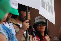 Edy Tábora y Gilda Silvestrucci pidiendo justicia.