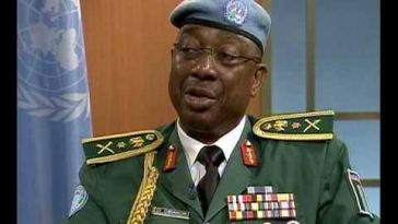 a black army officer