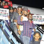 Evacuated Nigerian returning from South Africa