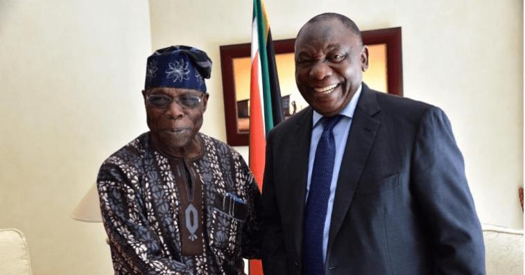 XENOPHOBIA: Olusegun Obasanjo and SA president