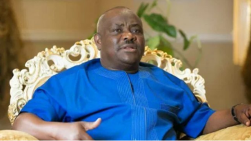 Wike's Wife Names Baby After Her Husband