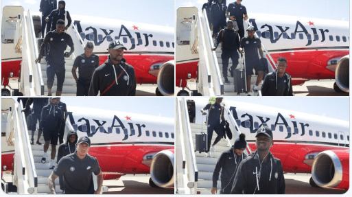 Super Eagles Touch Down Lesotho For AFCON Qualifiers (VIDEO)