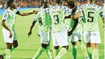 Super Eagles Starting Eleven vs Lesotho: Two Changes Made