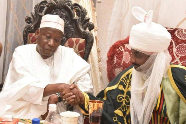 Emir Sanusi Bows To Ganduje, Accepts To Head Council Of Chiefs
